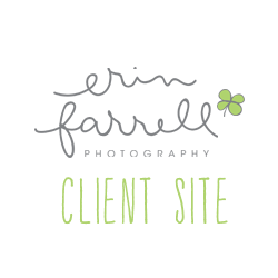 Erin Farrell Photography Client Site logo