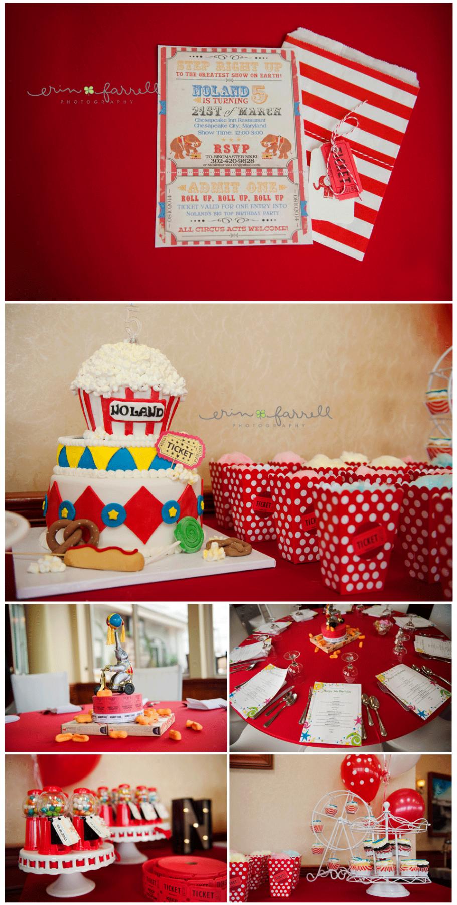 carnival themed birthday party middletown delaware children s